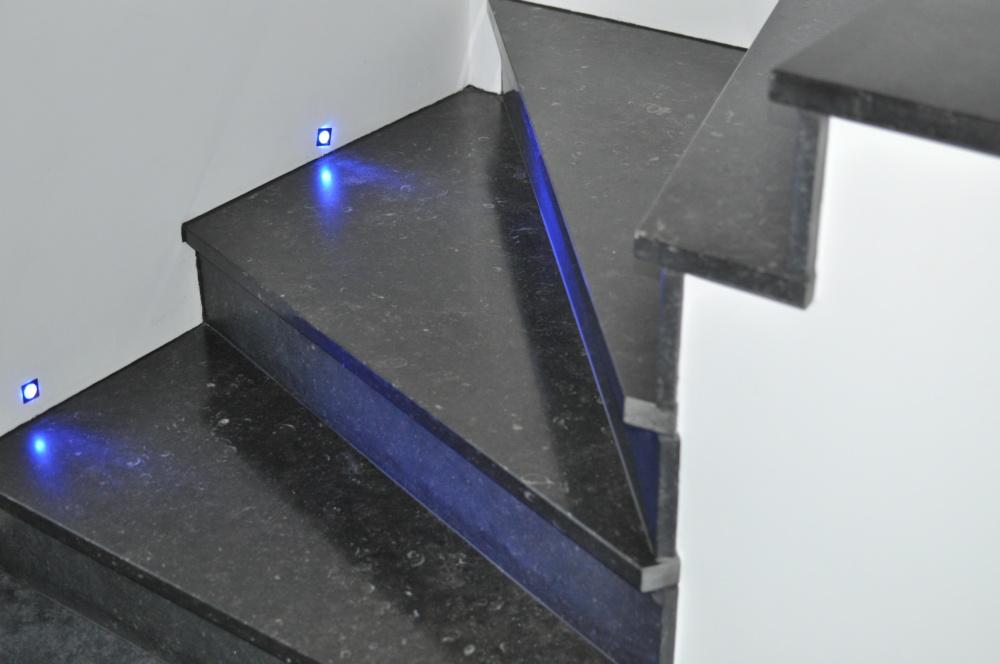 Escalier Poli mat